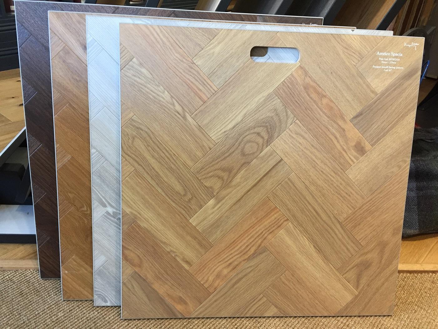 New Amtico Spacia Parquet Flooring Studio